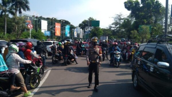Ancol ditutup